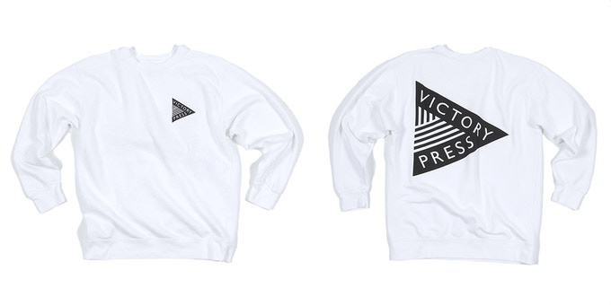 Crew Neck Logo Sweatshirt ($50)