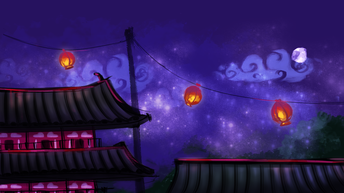 In its first stage, Festive Grounds, natives celebrate the launch of the Grand Prix as racers zip on by. Boost ramps and wires are frequently placed near temple rooftops, so try to stay as high as you can in order to keep ahead of the game!