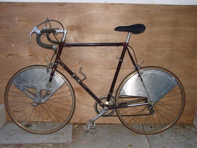 Original Prototype with 36 spoke-count wheels