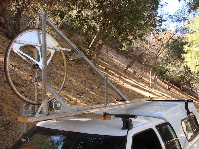Poor-man's wind tunnel test fixture