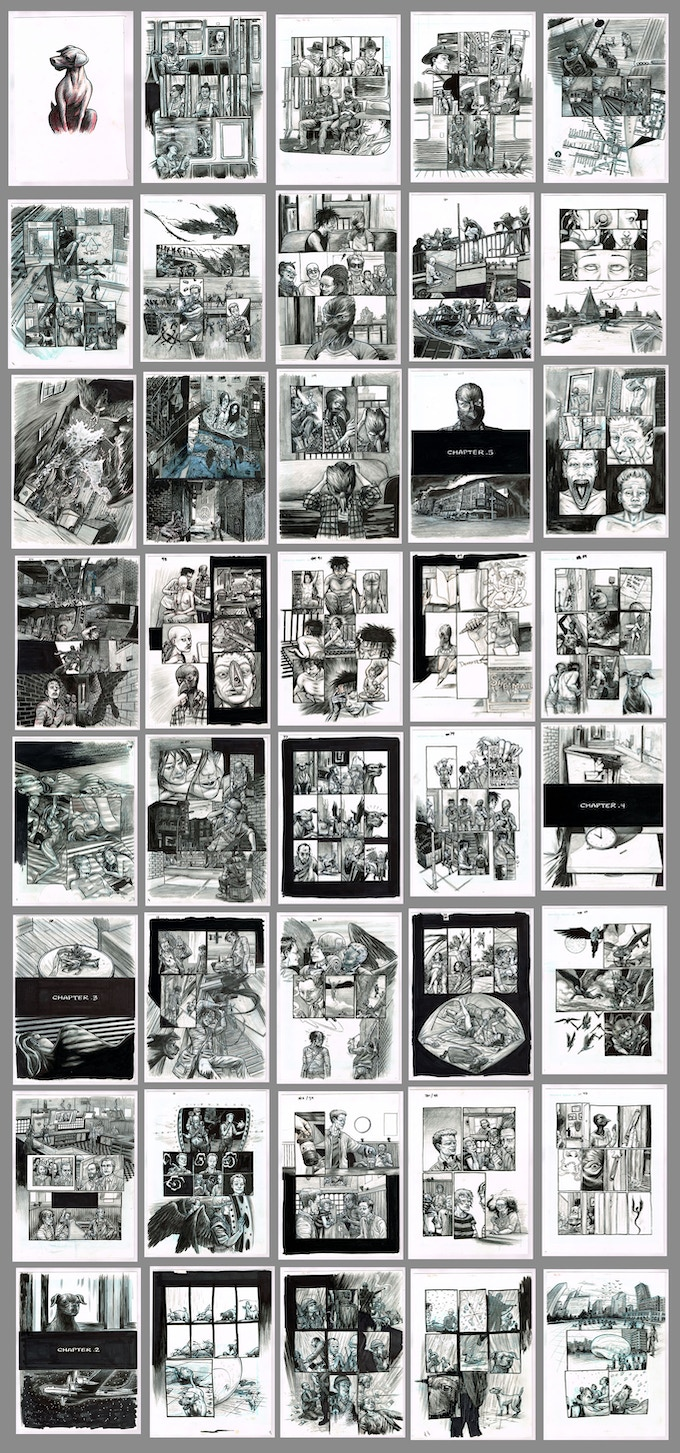 Thumbs of the pages of Therefore, Repent! Warning, some mild nudity.