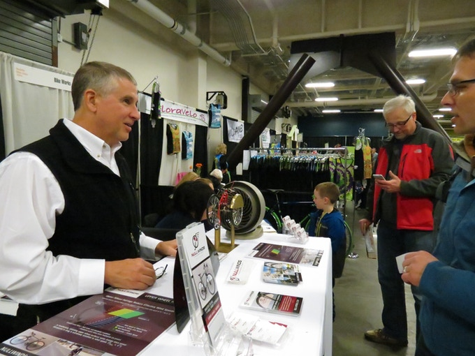 Public introduction at Seattle Bike Expo, March 2014