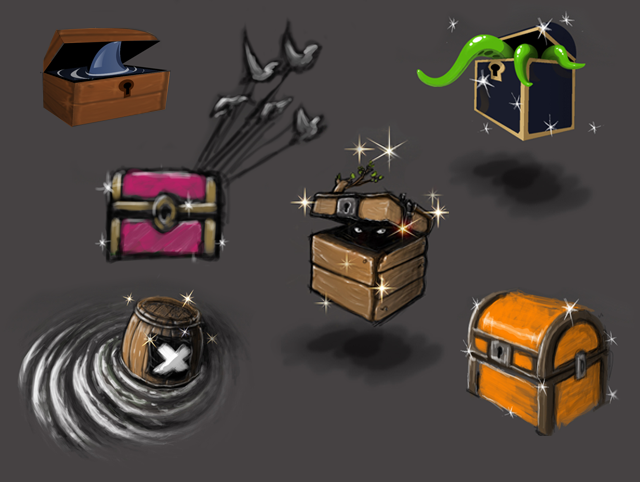 Weapons & Power-Ups!