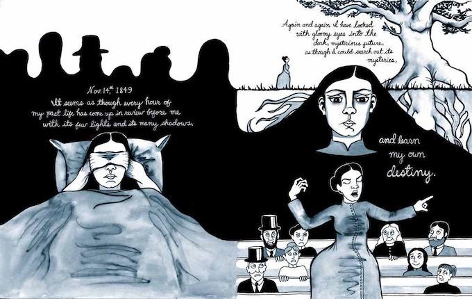 "^ $7 reward: ""I Still Live: Biography of a Spiritualist"", a 52-page graphic novella by Annie Murphy"
