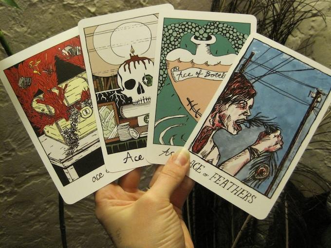 $200 reward: ultra-rare first printing of The Collective Tarot, circa 2008 + a Tarot reading from Annie Murphy