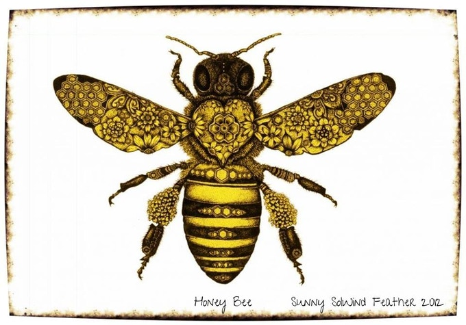 Solwind Bee Art