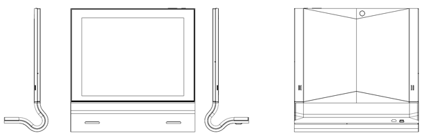Wire-frames from different angles