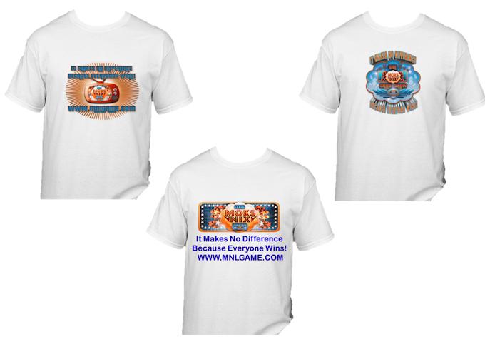 Sample of T-shirt designs