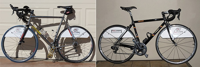 Bikes of some early testers