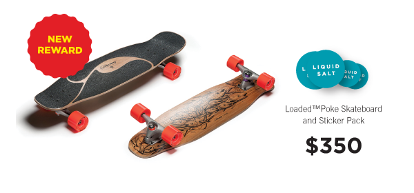 Poke Skateboard by Loaded! Click for more info.