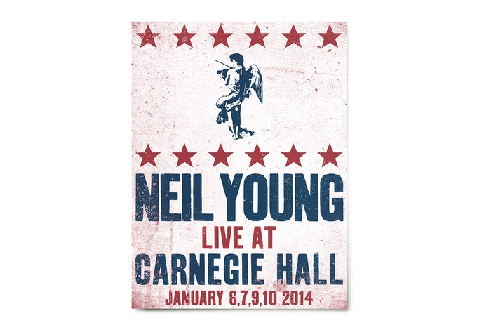 Signed Carnegie Hall Poster