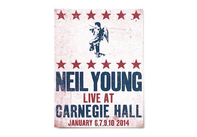 Signed Carnegie Hall Poster
