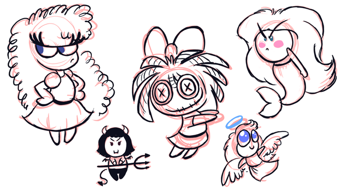 Luna's Doll Concept 1