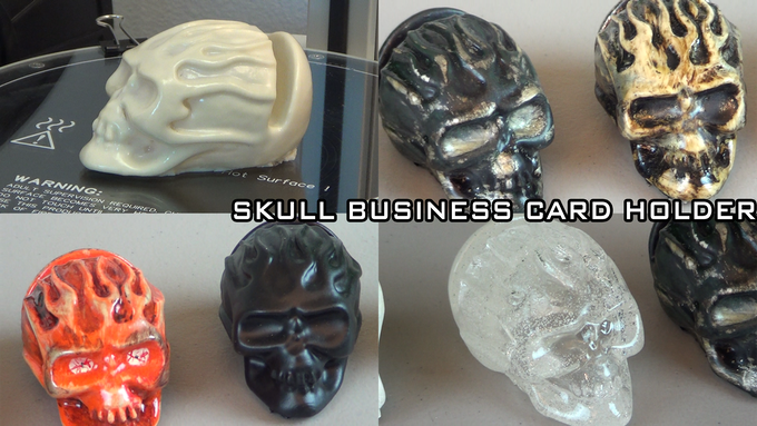 The Skull Business Card Holder!