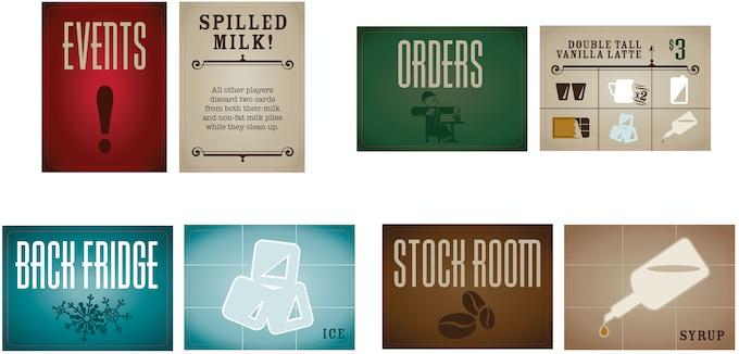 Uptown Espresso Cards