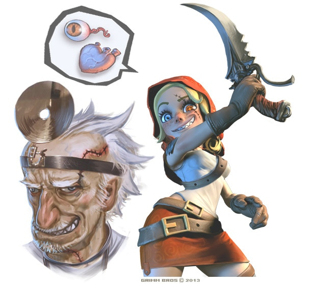 Ever wanted to have the eyes of a Sea Troll, the hearth of a weretiger or the teeth of a vampire? No problem! With this feature a new crazy Fringe scientists would be added to the game. For gold he is willing to just do about any experiment to your body.