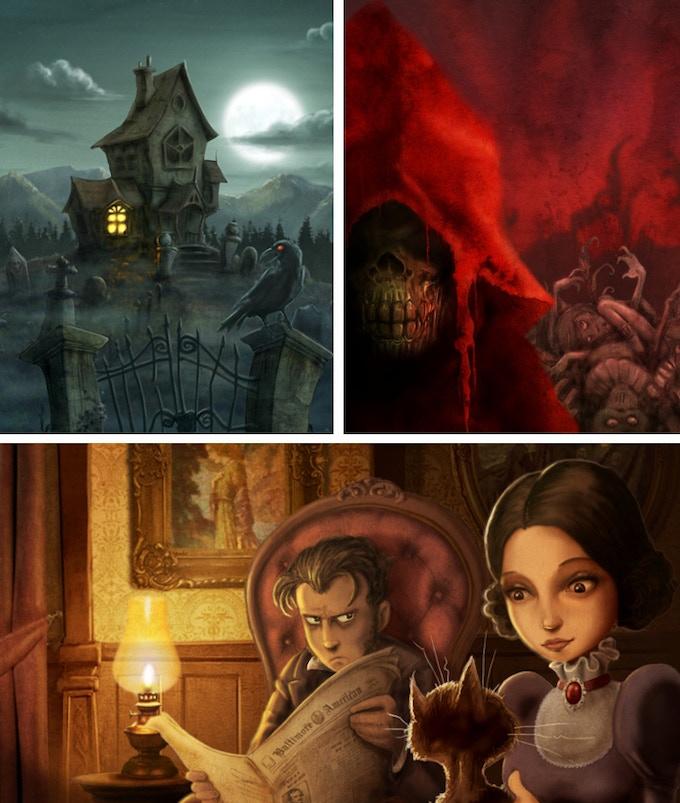 Some illustrations by David G. Forés.