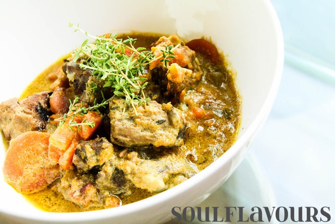Indian lamb stew