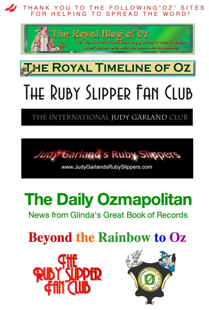 Thank you for spreading the word to the Oz community!