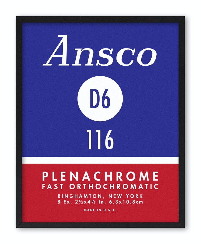 Ansco D6 116 Plenachrome