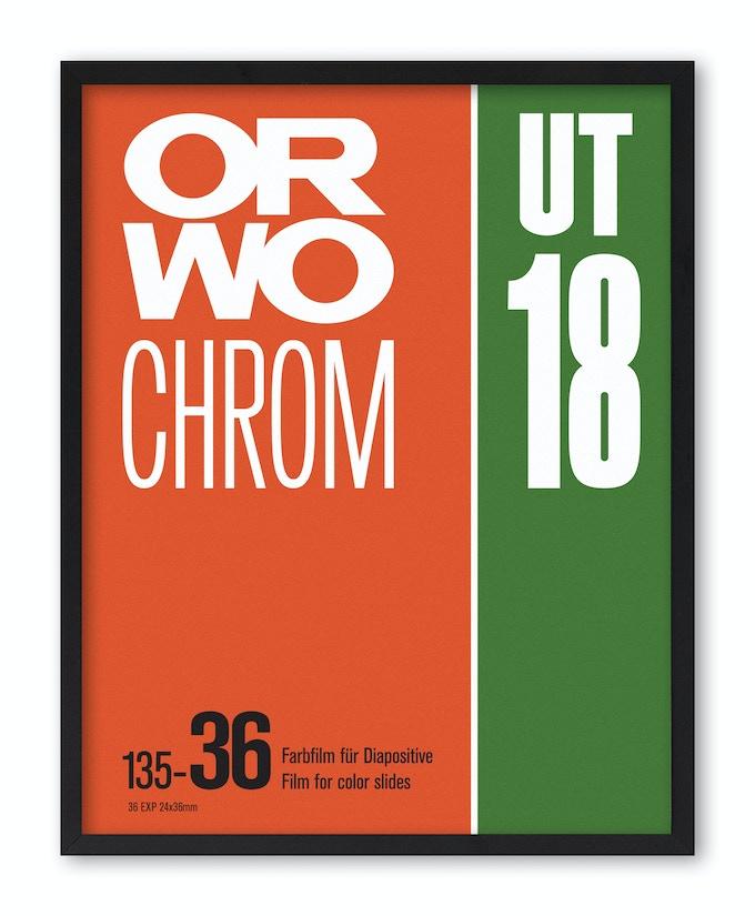 ORWO Chrom UT18