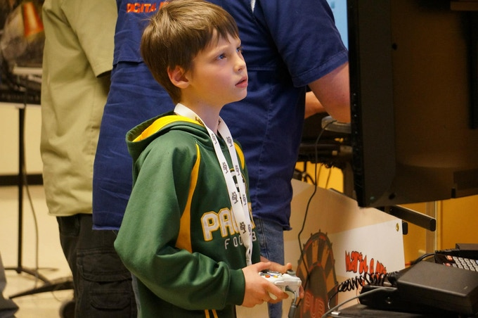 Passion for game development starts young