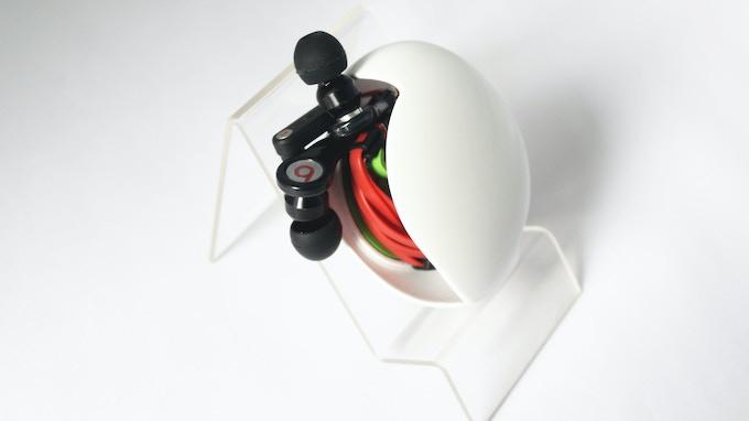 iShell winding Beats earphone with flat cable