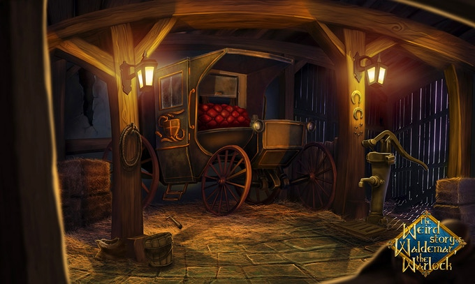 The Carriage in the Stable