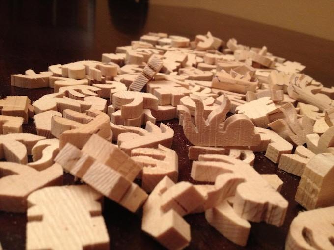 Hundreds of basic Wooden Minis