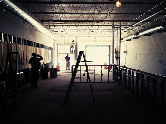 Wynwood Bakery under construction