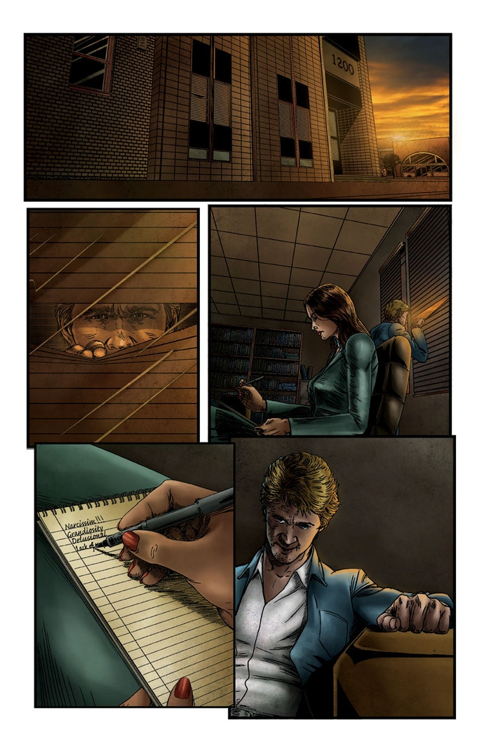 The Undone #2 Page 1: Art by Soussherpa