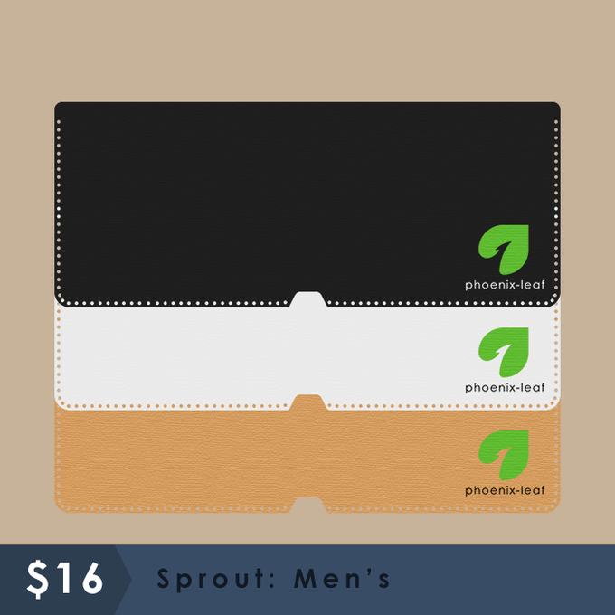Sprout: Men's - 3 color options - Hemp cord color matches with material choice.