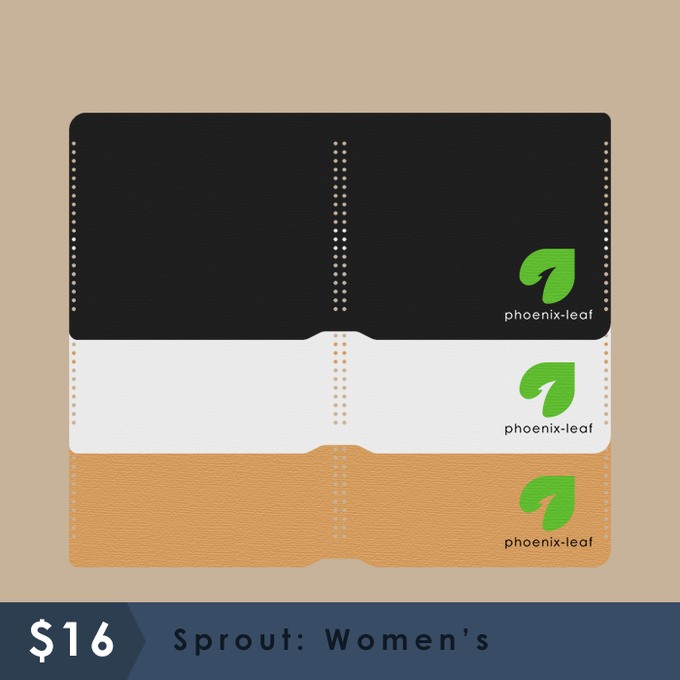 Sprout: Women's - 3 color options - Hemp cord color matches with material choice.