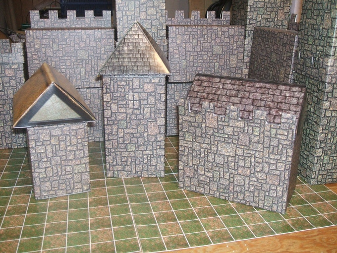 Roofs on Castles