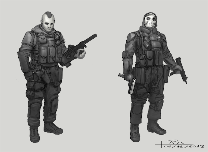 State Trooper Concept Art