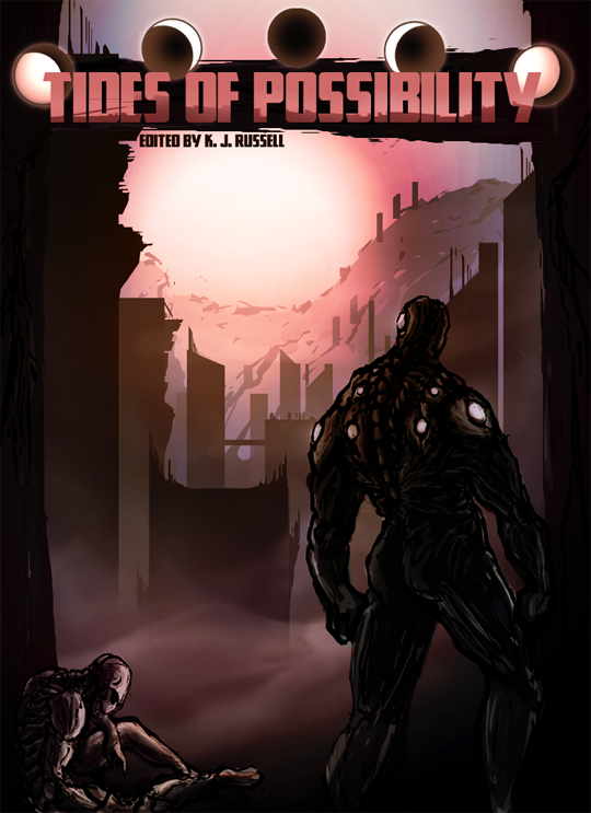 """The cover art -- titled """"Inheritance"""" -- is by fantasy artist and graphic novelist David Sidebotham."""