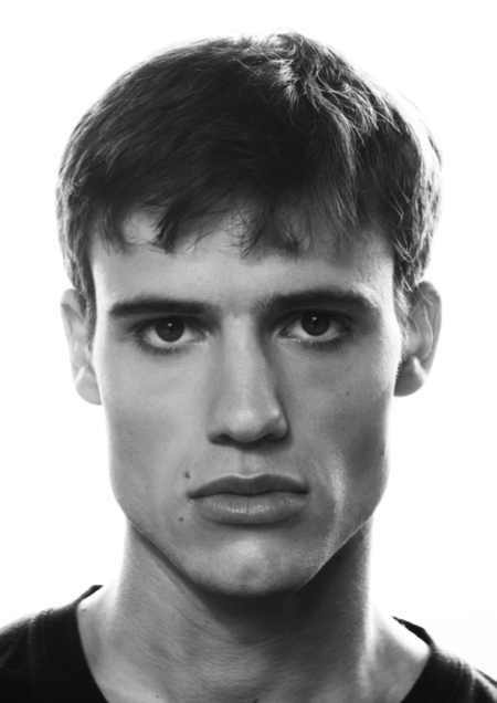 An example of a headshot in Max's portfolio