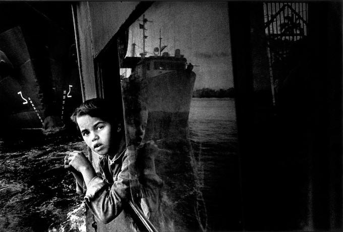 BazanCuba Limited Edition three: Boy on the ferry/Italian