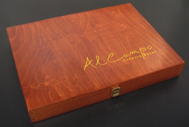 Al Campo Limited Edition wooden box sample:1