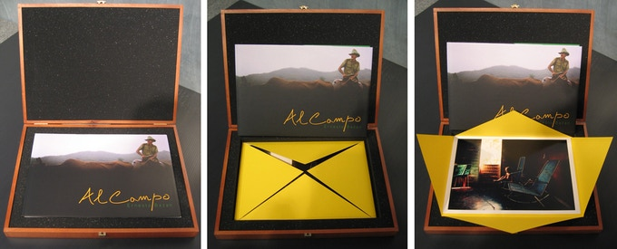 Al Campo Limited Edition wooden box sample: 2
