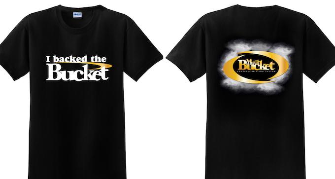 "The ""I Backed The Bucket"" Rewards T-shirt"