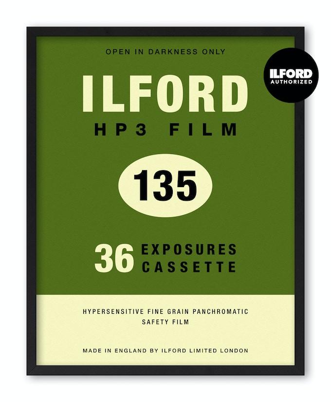 Ilford HP3 135