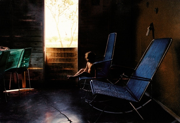 Little Girl On A Rocking Chair, Bautista, Cuba, 2002
