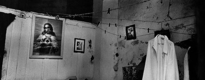 1 - Interior with shirt hanging, Havana, Cuba, 2002