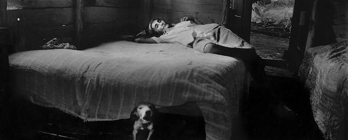3 - Juana Margarita in bed, Viñales, Cuba,  2002
