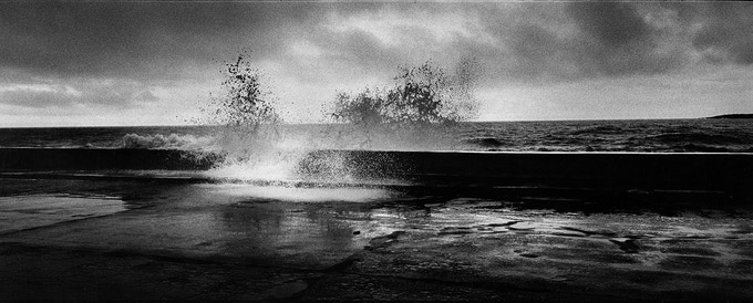 10 - Water crashing on the Malecón, Havana, Cuba, 2004