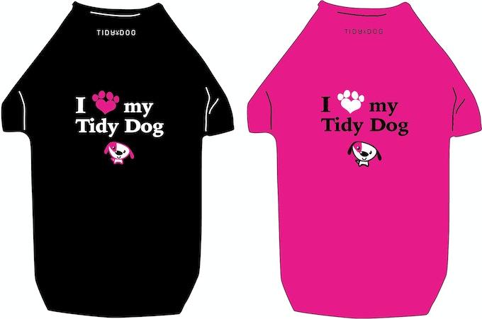 Dog Shirts in Black & Pink