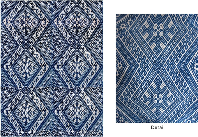 Miao Handwoven Fabric (donation of $750 or more)