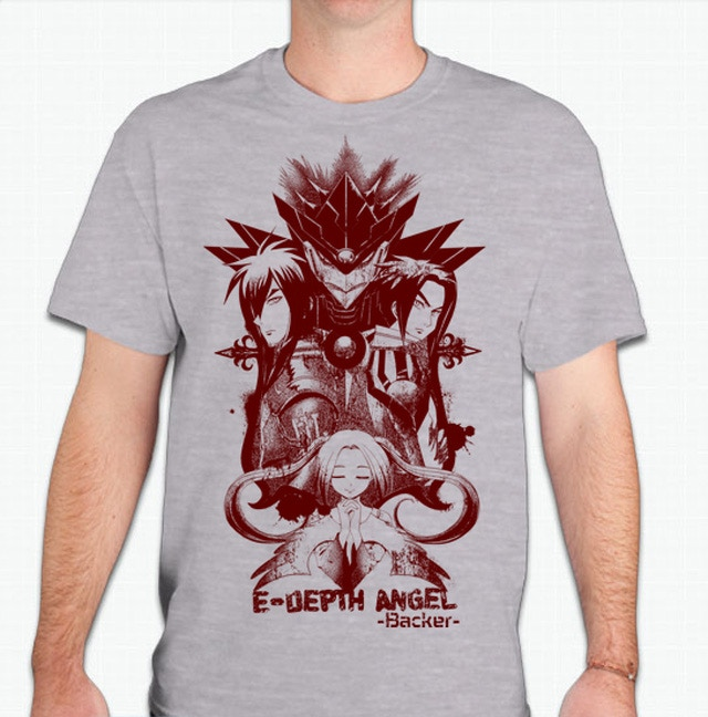 Edepth Anime kickstarter T-shirt