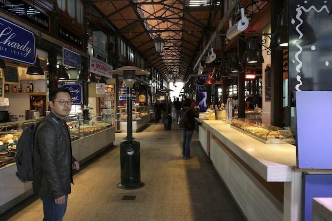 The Mercado de San Miguel in Madrid